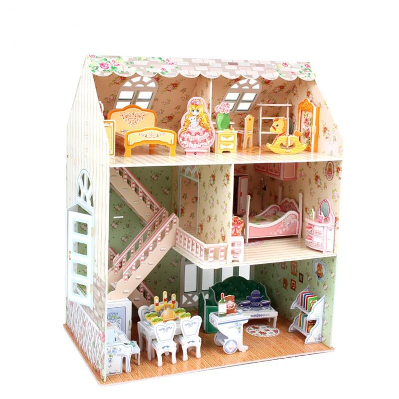 Купить 3D пазл Дом мечты, Cubic Fun