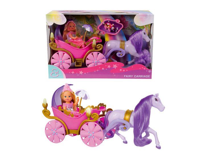 Кукла Еви в карете + лошадьКуклы Еви<br>Кукла Еви в карете + лошадь<br>