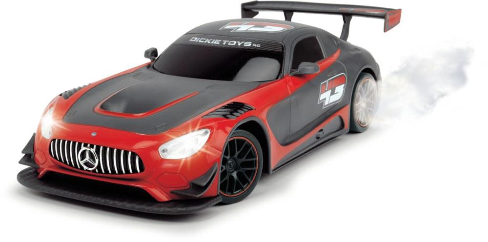 Машинка Mercedes-AMG GT3 на радиоуправлении, с дымомМашины на р/у<br>Машинка Mercedes-AMG GT3 на радиоуправлении, с дымом<br>