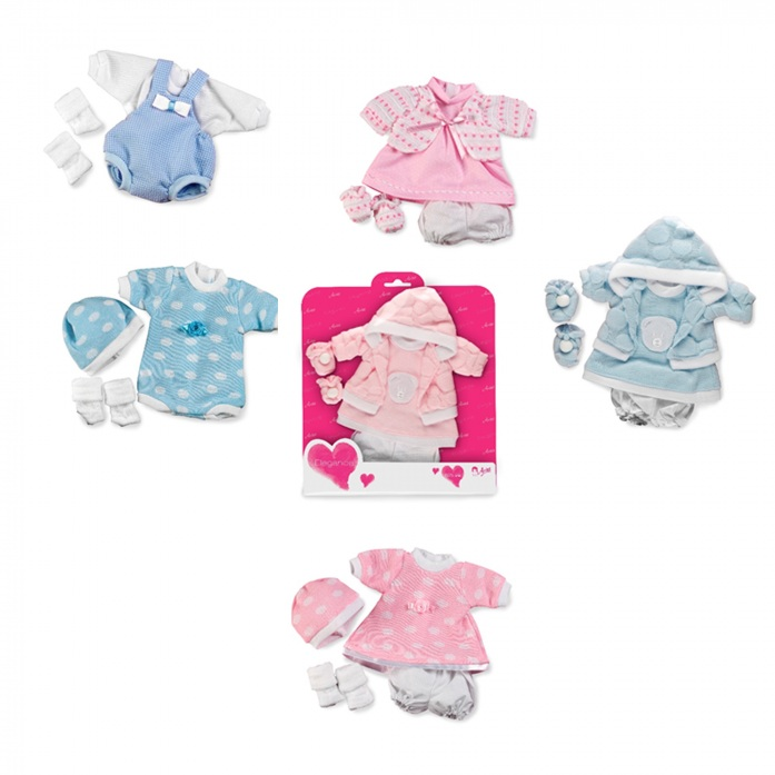 Купить Набор одежды для куклы Arias Elegance 26 см, 6 видов