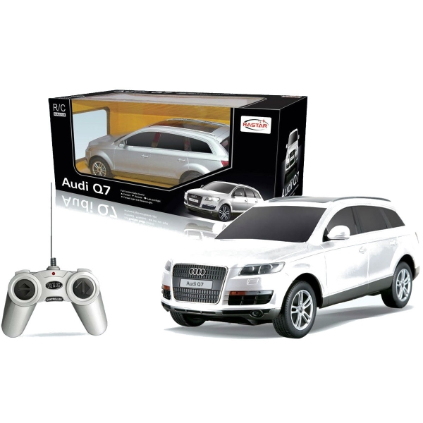 Машина на р/у - Audi Q7, цвет серебряный, 1:24
