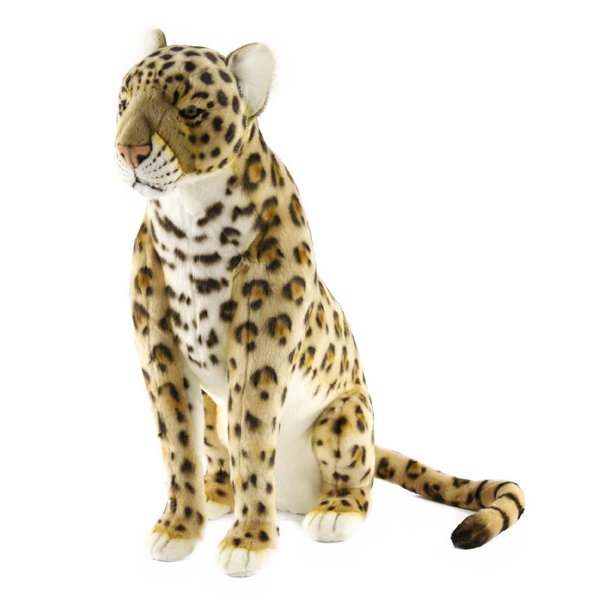 Купить Мягкая игрушка - Леопард сидящий, 65 см, Hansa
