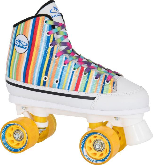 Купить Ролики-квады Candy-Stripes, размер 41, мультицвет, Hudora