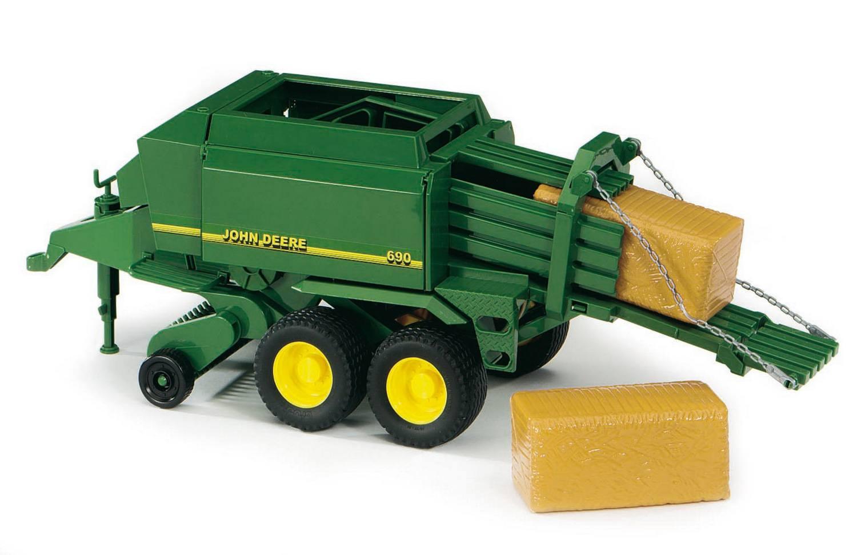 Прицеп Bruder John Deere для комбикормовИгрушечные тракторы<br>Прицеп Bruder John Deere для комбикормов<br>