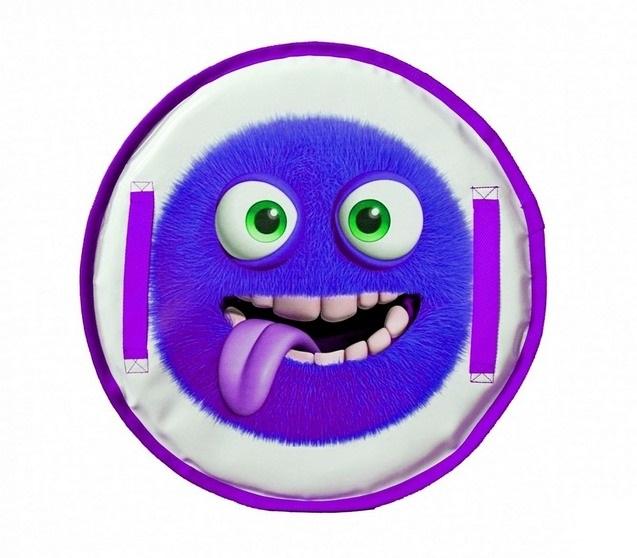 Ледянка Монстрик - пушистик фиолетовыйВатрушки и ледянки<br>Ледянка Монстрик - пушистик фиолетовый<br>