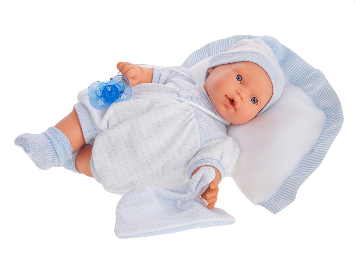 Купить Кукла Химено в голубом, плачет, 27 см., Antonio Juans Munecas