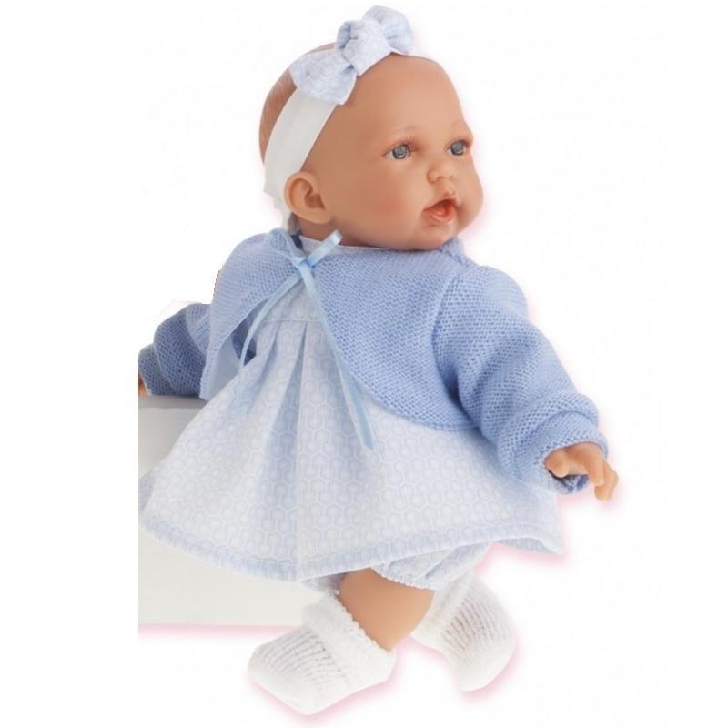 Купить Кукла Петти в голубом, озвученная, 27 см., Antonio Juans Munecas