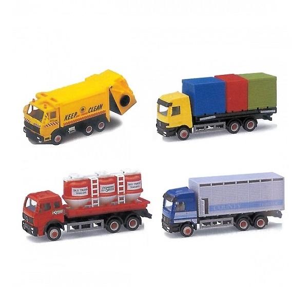Купить Модель грузовика 15 см., 16 видов, Welly