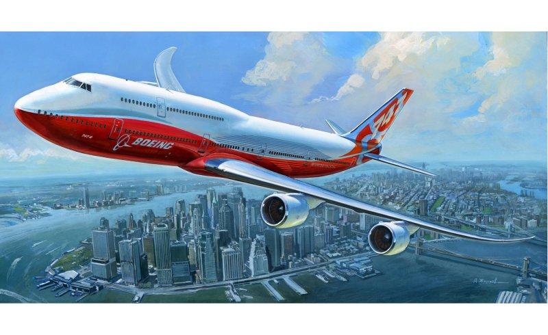 Модель для склеивания - Боинг 747-8Модели самолетов для склеивания<br>Модель для склеивания - Боинг 747-8<br>