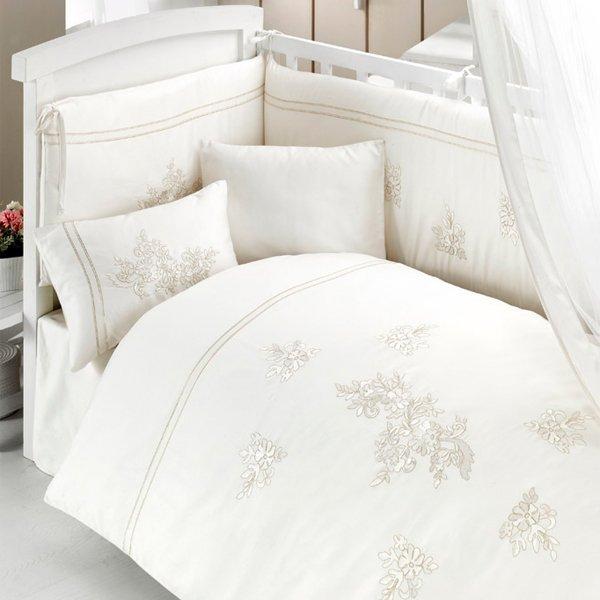 Комплект постельного белья из 3 предметов серия  Glossy - Спальня, артикул: 171500