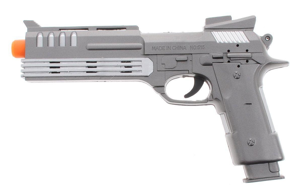 Пистолет на батарейкахАвтоматы, пистолеты, бластеры<br>Пистолет на батарейках<br>