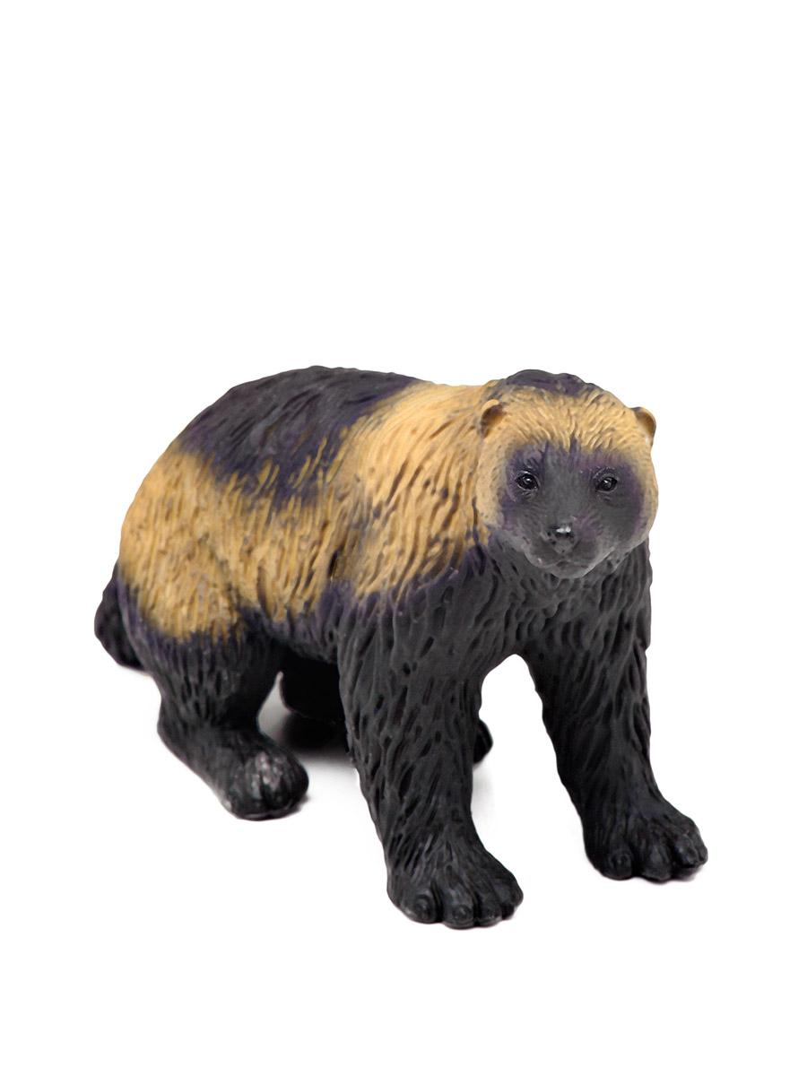 Фигурка – Росомаха, размер 9 х 2,5 х 9 см.Дикая природа (Wildlife)<br>Фигурка – Росомаха, размер 9 х 2,5 х 9 см.<br>