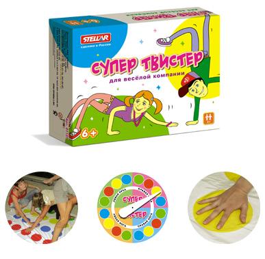 Игра для детей «Супер Твистер»Твистер (Twister)<br>Игра для детей «Супер Твистер»<br>