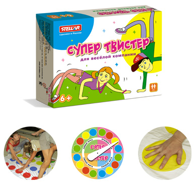 Игра для детей «Супер Твистер» фото