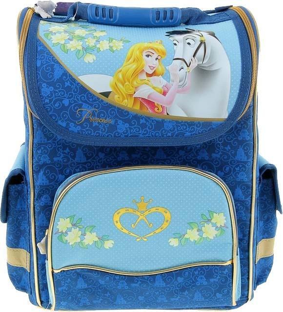 Рюкзак ортопедический Disney Принцессы - Волшебные лошадиШкольные рюкзаки<br>Рюкзак ортопедический Disney Принцессы - Волшебные лошади<br>