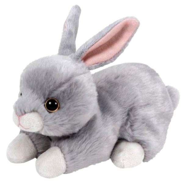 Мягкая игрушка - Кролик серый, 15 см.Зайцы и кролики<br>Мягкая игрушка - Кролик серый, 15 см.<br>