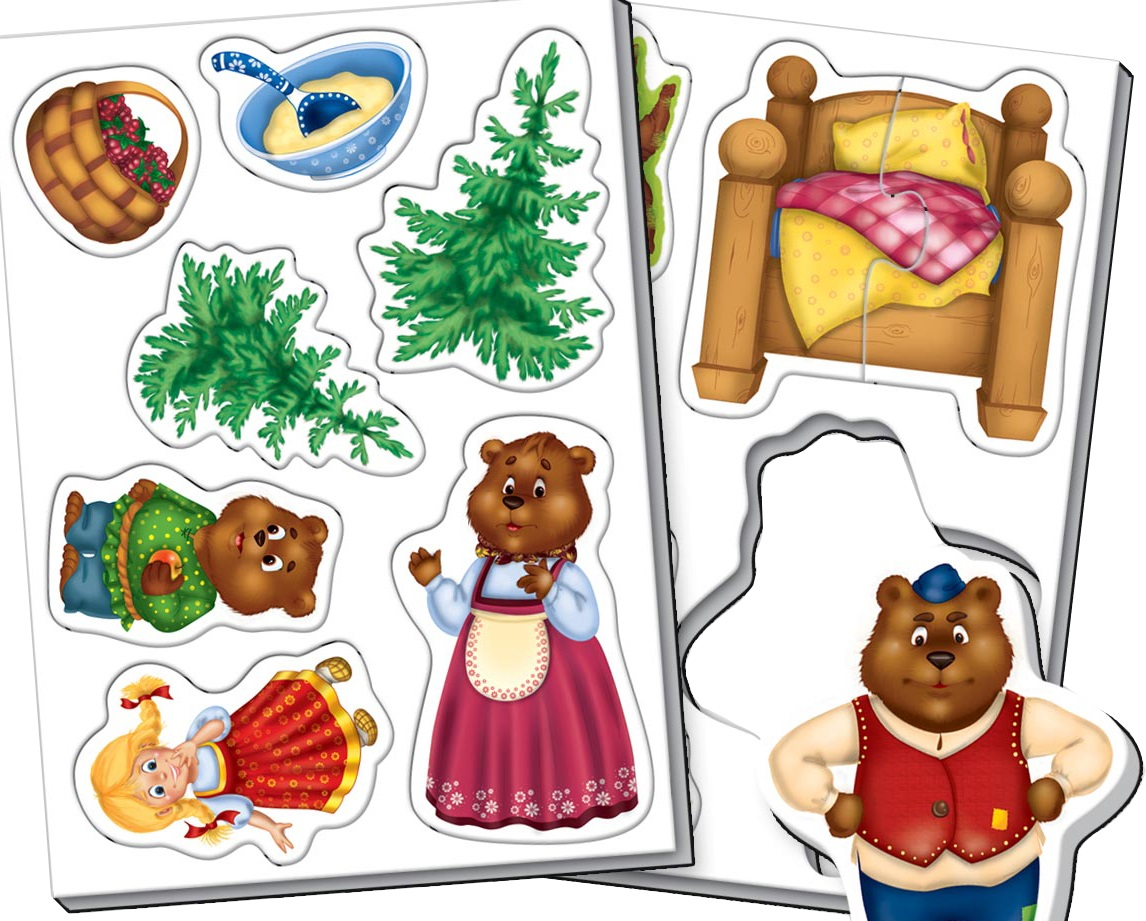 выдерживают сказка три медведя картинки героев отдельно каждый состоит