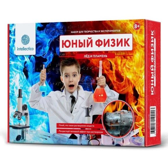 Набор для опытов - Юный Физик - Лед и пламеньЮный физик<br>Набор для опытов - Юный Физик - Лед и пламень<br>