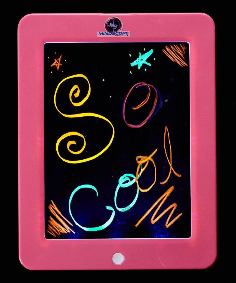 Планшет неоновый розовый с маркерамиДоски и экраны для рисования<br>Планшет неоновый розовый с маркерами<br>