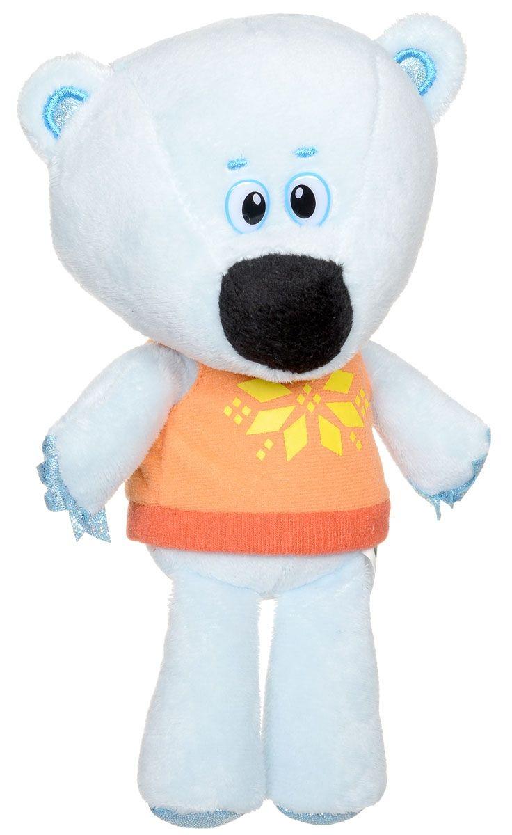 Озвученная мягкая игрушка - Медвежонок Белая Тучка из мультфильма - Ми-ми-мишки, 20 смГоворящие игрушки<br>Озвученная мягкая игрушка - Медвежонок Белая Тучка из мультфильма - Ми-ми-мишки, 20 см<br>