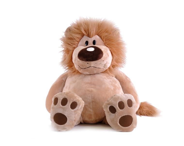 Лев Лёва сидячий, 56смБольшие игрушки (от 50 см)<br>Лев Лёва сидячий, 56см<br>