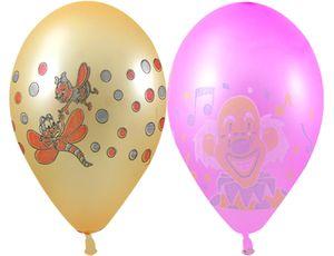 Воздушные шары 12,  неон, 10 штук с рисункомВоздушные шары<br>Воздушные шары 12,  неон, 10 штук с рисунком<br>