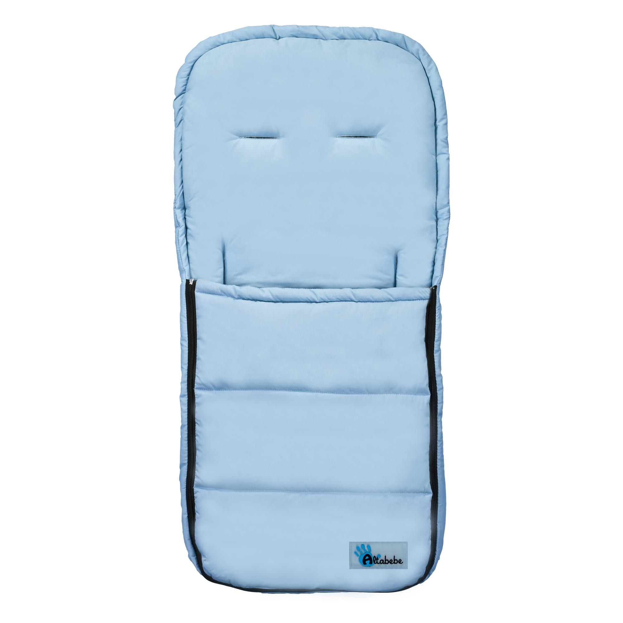 Демисезонный конверт AL2200 Altabebe, размер 90 x 45 см., голубойДемисезонные конверты для новорожденных<br>Демисезонный конверт AL2200 Altabebe, размер 90 x 45 см., голубой<br>