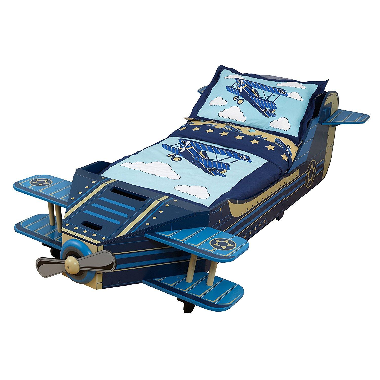 Купить Детская кровать – Самолет, с ящиком для белья, KidKraft