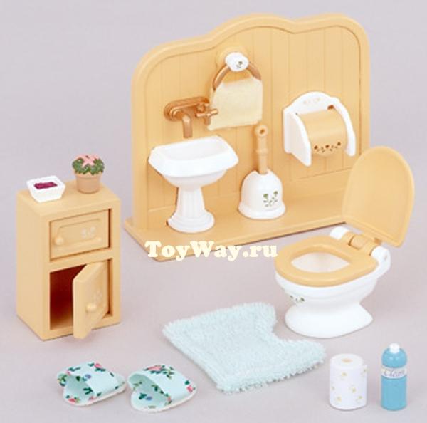Sylvanian Families - Туалетная комната фото