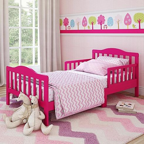 Кровать для дошкольников Candy размер 150 х 70 см, цвет - розовыйДетские кровати и мягкая мебель<br>Кровать для дошкольников Candy размер 150 х 70 см, цвет - розовый<br>