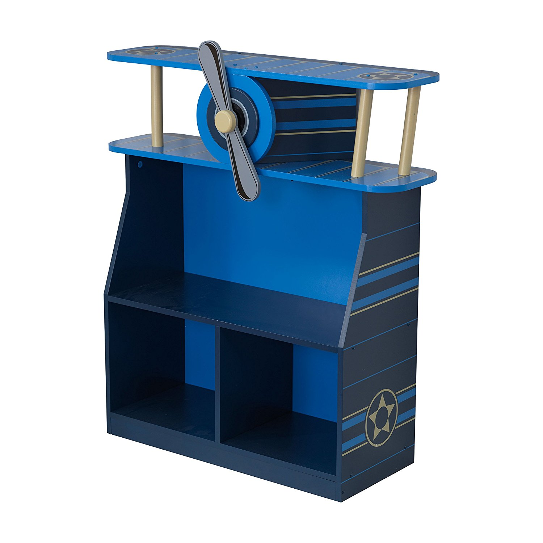 Комод – Самолет Airplane BookscaseКорзины для игрушек<br>Комод – Самолет Airplane Bookscase<br>