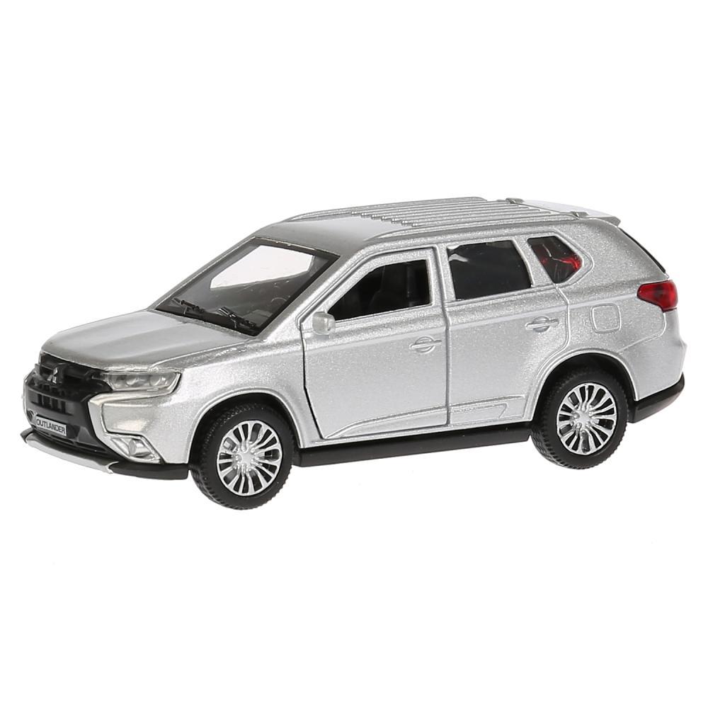 Купить Металлическая инерционная модель - Mitsubishi Outlander, 12 см, открываются двери, багажник, Технопарк