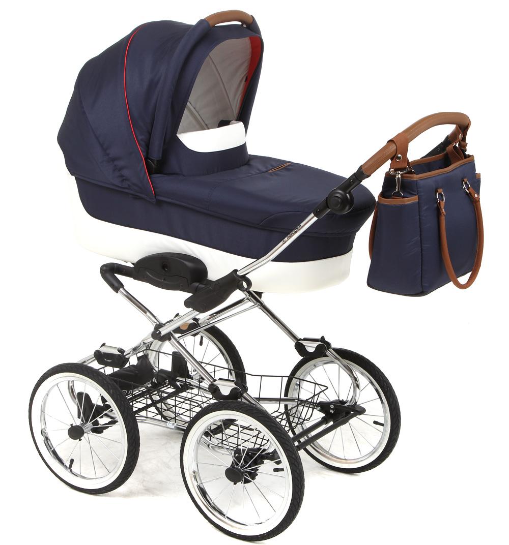 Детская классическая коляска Navington Caravel – sardiniaДетские коляски-люльки<br>Детская классическая коляска Navington Caravel – sardinia<br>