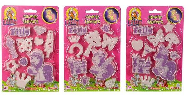 Наклейки-светящиеся Filly, 3 видаЛошадки Филли Filly Princess<br>Наклейки-светящиеся Filly, 3 вида<br>