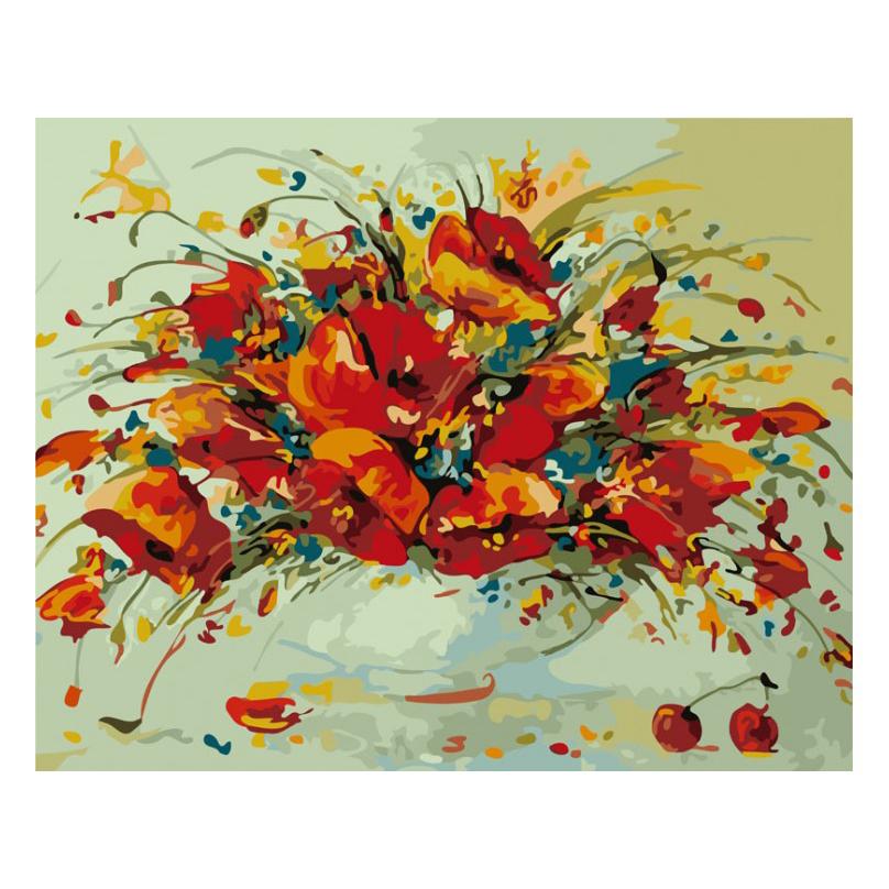 Раскраска по номерам - Весенний вальс, 40 х 50 см.Раскраски по номерам Schipper<br>Раскраска по номерам - Весенний вальс, 40 х 50 см.<br>