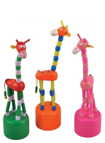 Купить Дергунчик Жираф, Мир деревянных игрушек