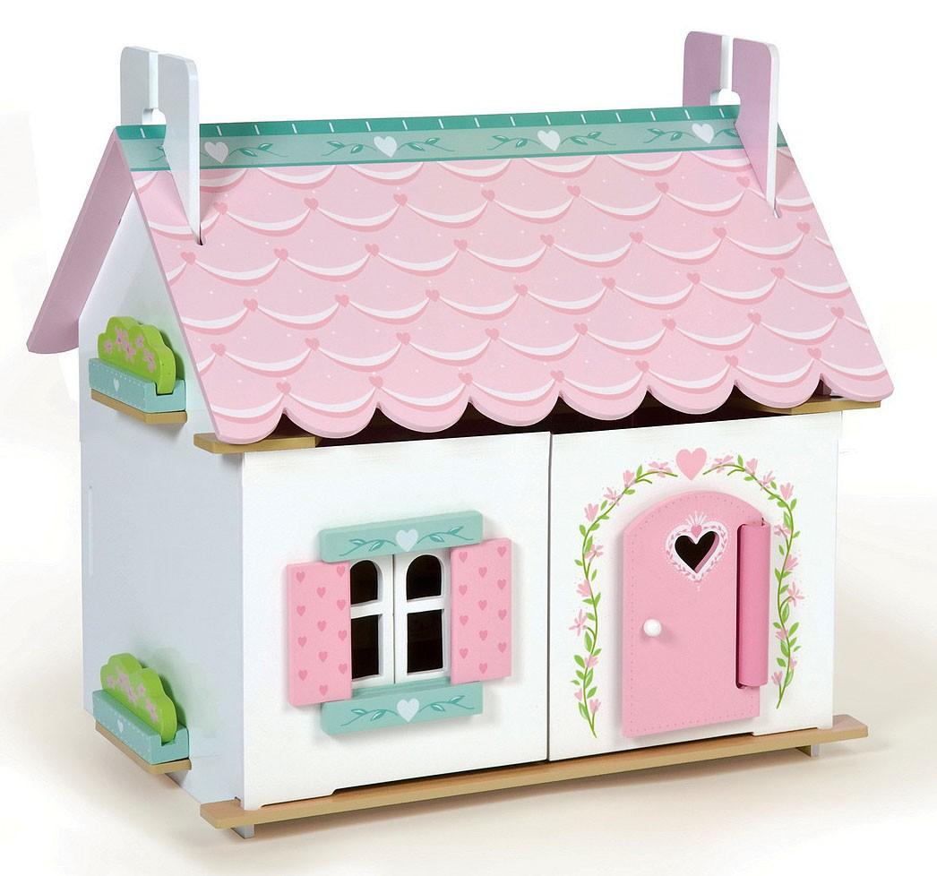 Домик игрушечный для кукол - ЛилиКукольные домики<br>Домик игрушечный для кукол - Лили<br>