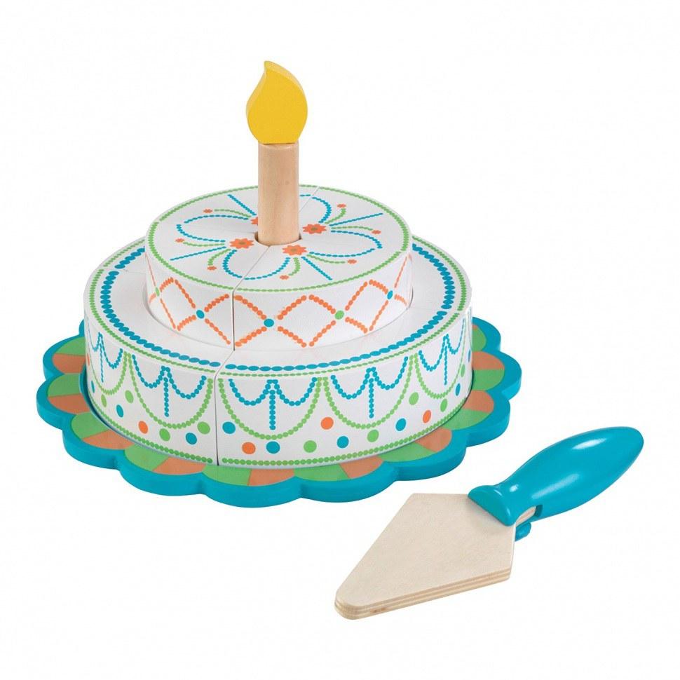 Игровой набор  Многоуровневый праздничный торт. Яркий - Аксессуары и техника для детской кухни, артикул: 164782