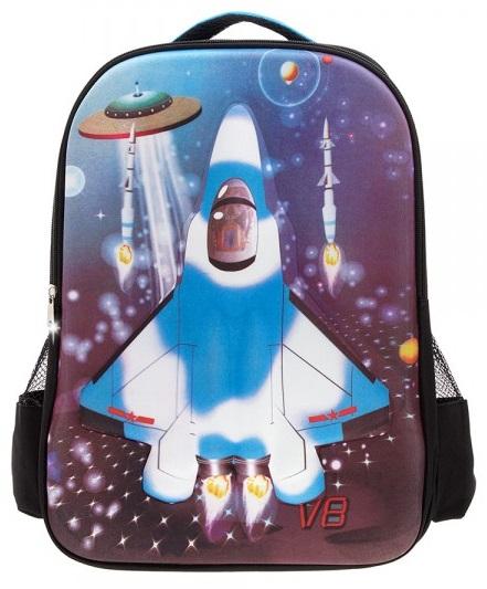Рюкзак – Самолет, черный с синимДетские рюкзаки<br>Рюкзак – Самолет, черный с синим<br>