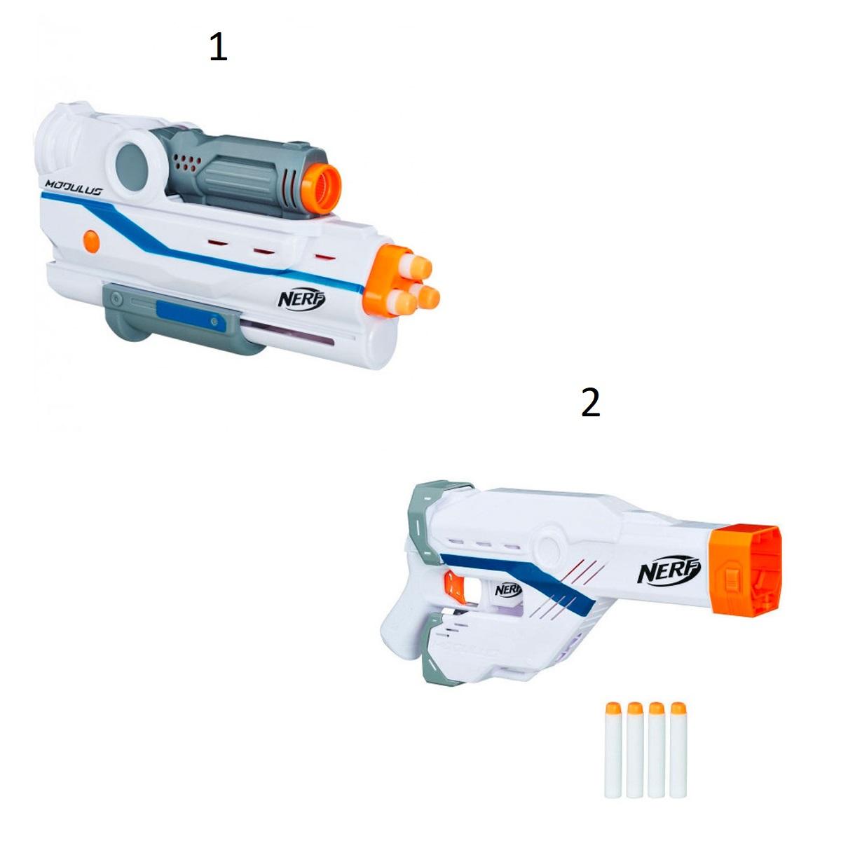 Купить Бластеры-аксессуары для стрельбы Нёрф Модулус, 2 вида, Hasbro