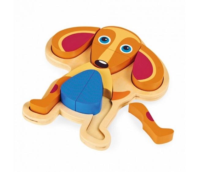 Развивающий пазл - СобакаРамки и паззлы<br>Развивающий пазл - Собака<br>
