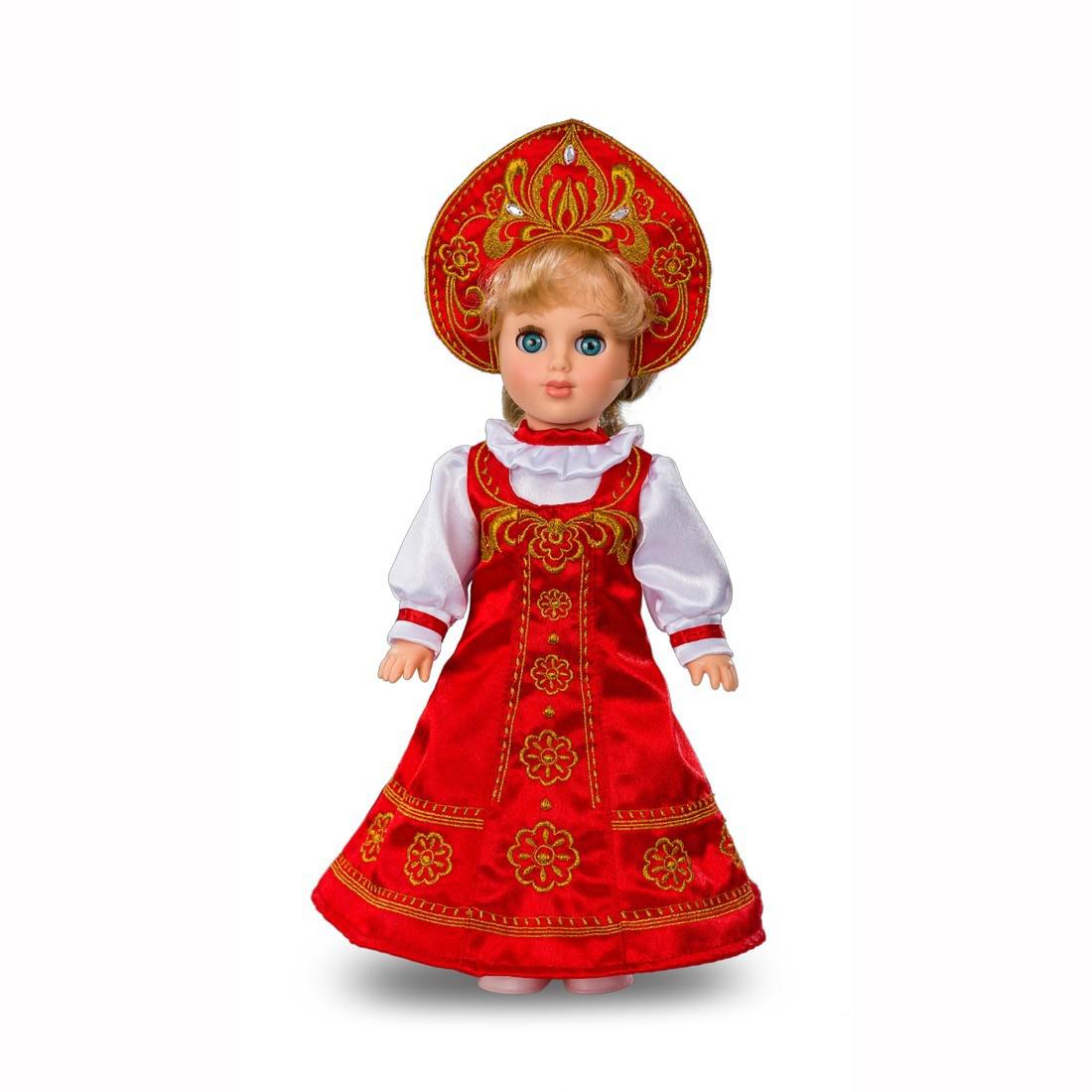 Кукла - Алла Русская красавица, 42 смРусские куклы фабрики Весна<br>Кукла - Алла Русская красавица, 42 см<br>