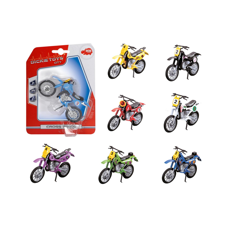 Кроссовый мотоцикл, 12 см., 8 видовГоночные машины<br>Кроссовый мотоцикл, 12 см., 8 видов<br>