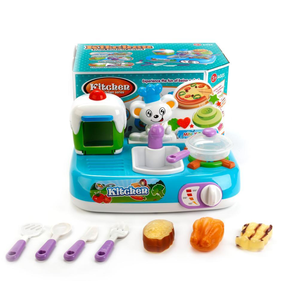 Купить Игровой набор – Кухня с плитой и продуктами, меняющими цвет, аксессуарами