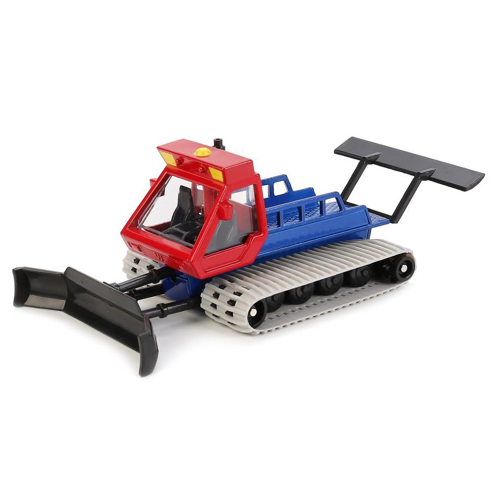 Купить Машина металлическая Ратрак - Уплотнитель снега, 16, 5 см, вращающиеся гусеницы, Технопарк