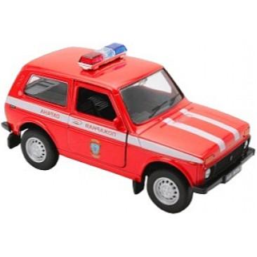 Модель машины LADA 4x4 Пожарная ОхранаLADA<br>Модель машины LADA 4x4 Пожарная Охрана<br>