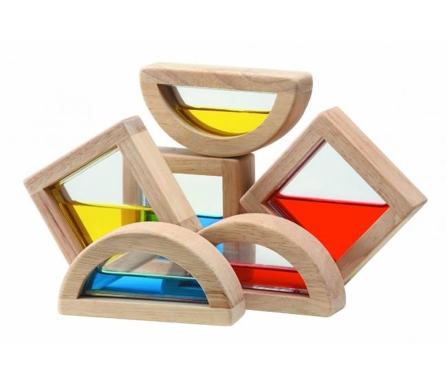 Купить Развивающая игрушка Водяные блоки, Plan Toys