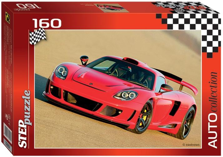Пазл спортивная красная машина, 160 элементовПазлы 100+ элементов<br>Пазл спортивная красная машина, 160 элементов<br>