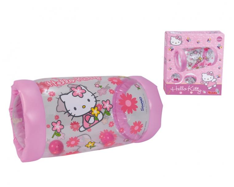 Надувной ролл Hello Kitty, с 2-я шариками внутриДетские погремушки и подвесные игрушки на кроватку<br>Надувной ролл Hello Kitty, с 2-я шариками внутри<br>