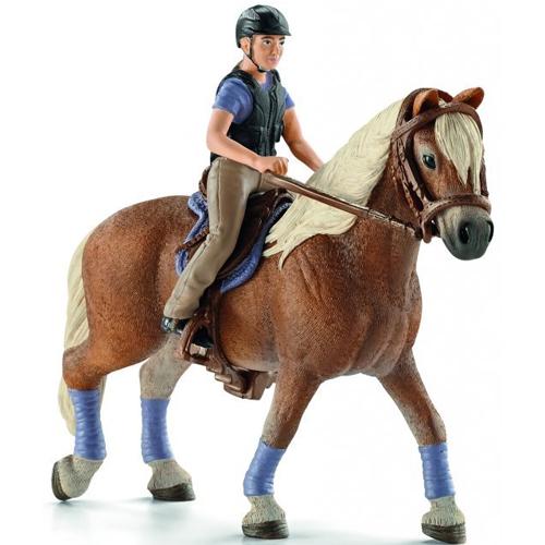 Купить Игровой набор - Всадник с лошадью - Прогулка, Schleich